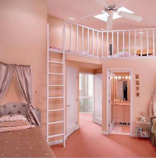 Very versatile room, can be enjoyed at all ages, maybe make loft room larger to be accessed at an older age too.
