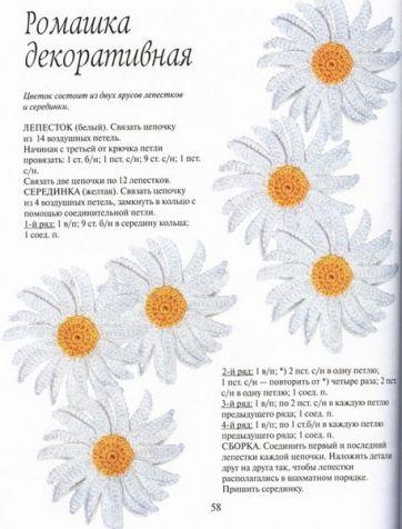"""Книга """" Цветы связанные крючком"""" продолжение"""
