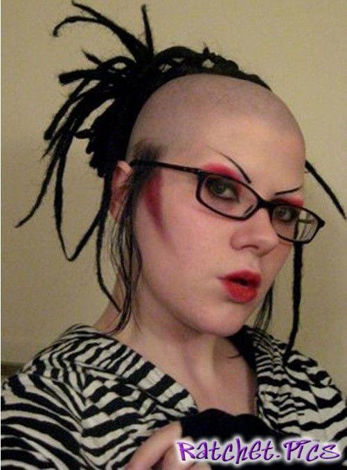 White girl ratchet