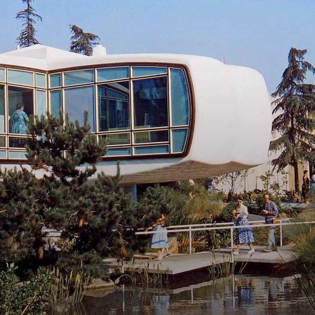 Как представляли дом будущего в 1957-м https://vk.com/faqindecor?w=wall-69527163_1250 #FAQinDecor #design #decor #architecture