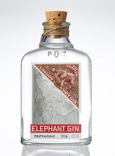 "Elephant Gin  www.LiquorList.com  ""The Marketplace for Adults with Taste"" @LiquorListcom   #LiquorList"