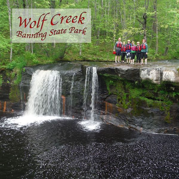 Wolf Creek Falls Sandstone Minnesota Rafting Tour State Parks White Water Rafting