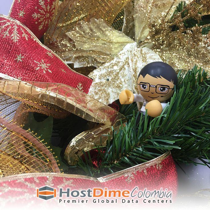Estamos en proceso decorativo de #Navidad #HostDime