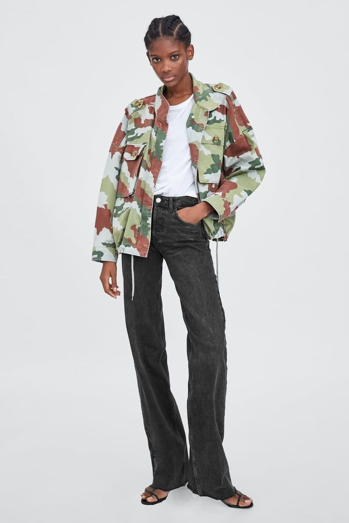 406d1767 Zara Camouflage Jacket | Fall 18 | Camouflage jacket, Fashion ...