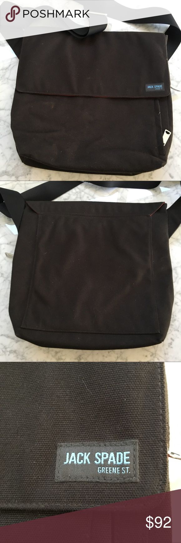 Jack Spade Messenger Bag Just a bit dusty but otherwise in great shape! Jack Spade Bags Messenger Bags