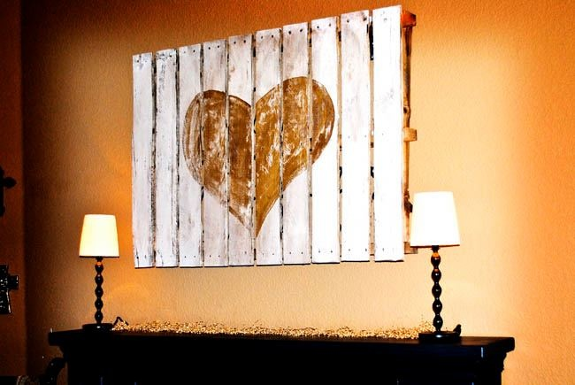 Pallets... Another great pallet idea. *