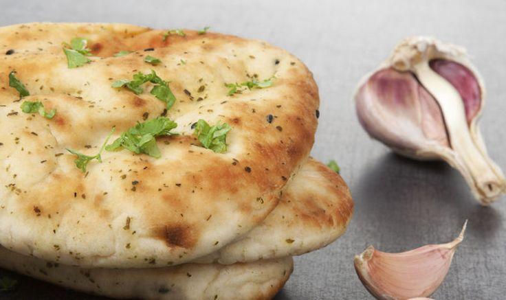 A Turmeric + Garlic Naan Recipe That's Gluten-Free & Grain-Free (almond & tapioca flour)