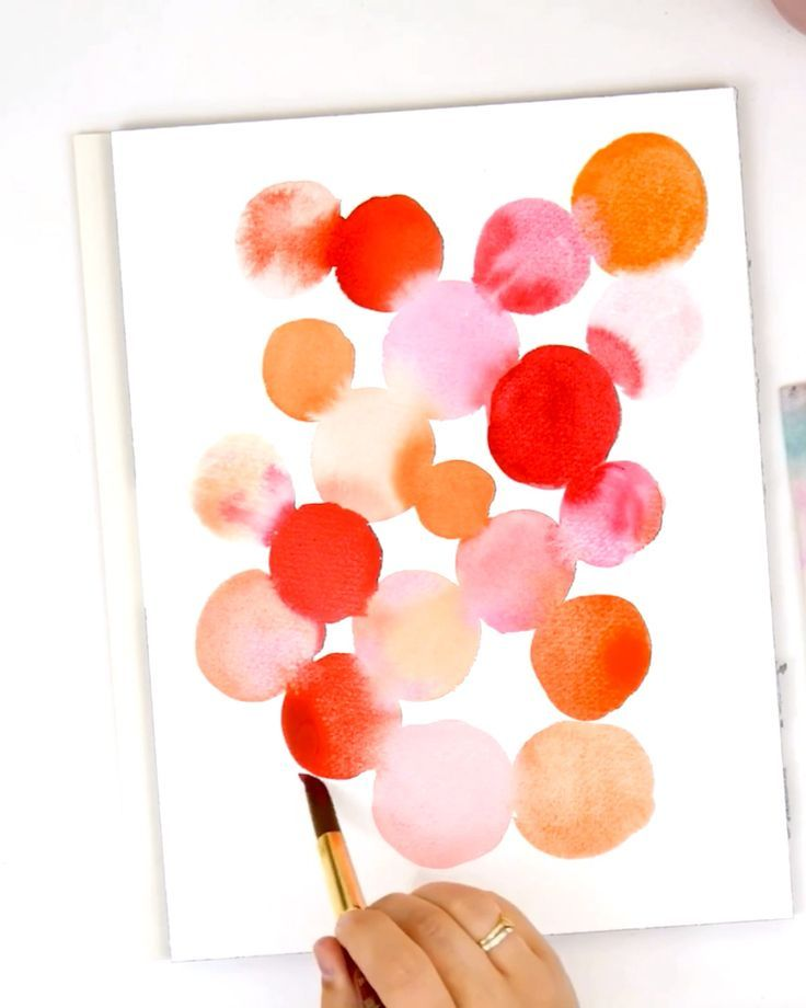 Easy Abstract Watercolor Painting For People Just Getting Started