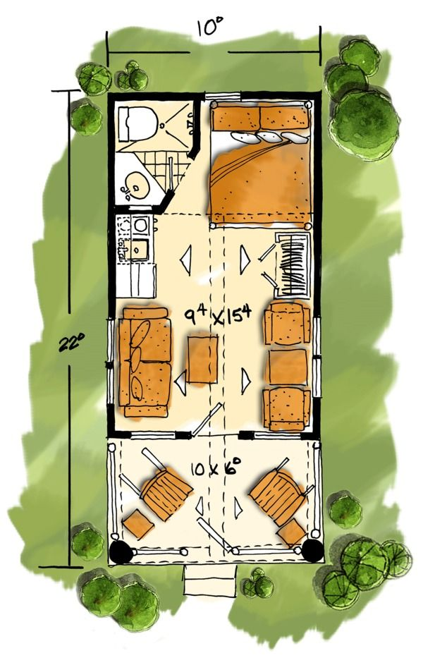 Log Style House Plan - 1 Beds 1.00 Baths 216 Sq/Ft Plan #942 ... on contemporary house plans, beach house plans, insulated concrete home plans, sip home plans, spy house plans, thermasteel house plans, simple one level house plans, timber frame house plans, art house plans, country house plans, concrete house plans, european custom house plans, scottish mansion house plans, ranch house plans, ici house plans, circular house plans, small house plans, plain and simple house plans, cottage house plans, sap house plans,