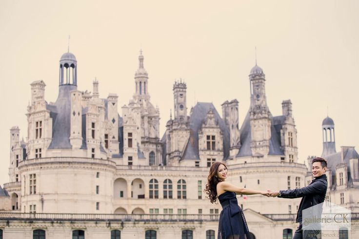 Paris Prewedding . Chateau De Chambord . Eric & Sarah . Europe prewedding .