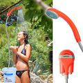 Ivation Battery Powered Handheld Portable Outdoor Camping Shower