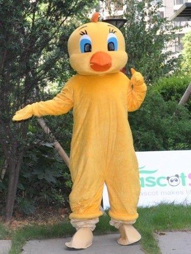 最新品トゥイティー着ぐるみ bird http://www.mascotshows.jp/product/tweety-birdmascot-adult-costume.html