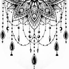 Image result for half mandala designs