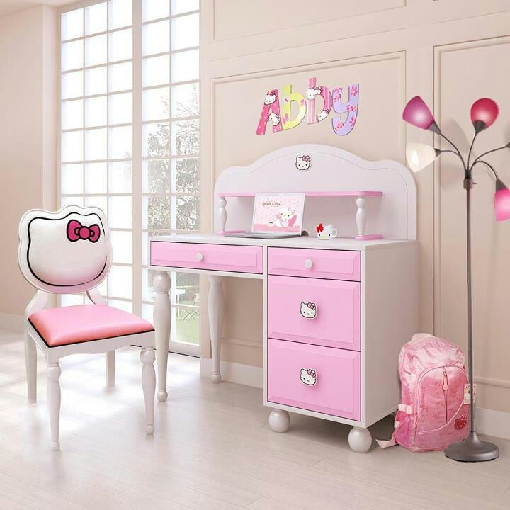 Girls Desk Cute Girls 39 Desk Pinterest Girl Desk