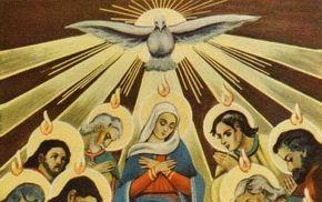Comienza la Novena al Espíritu Santo…