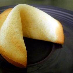 Fortune Cookies featured on Food2Fork. #food2fork #Make Your Own Fortune