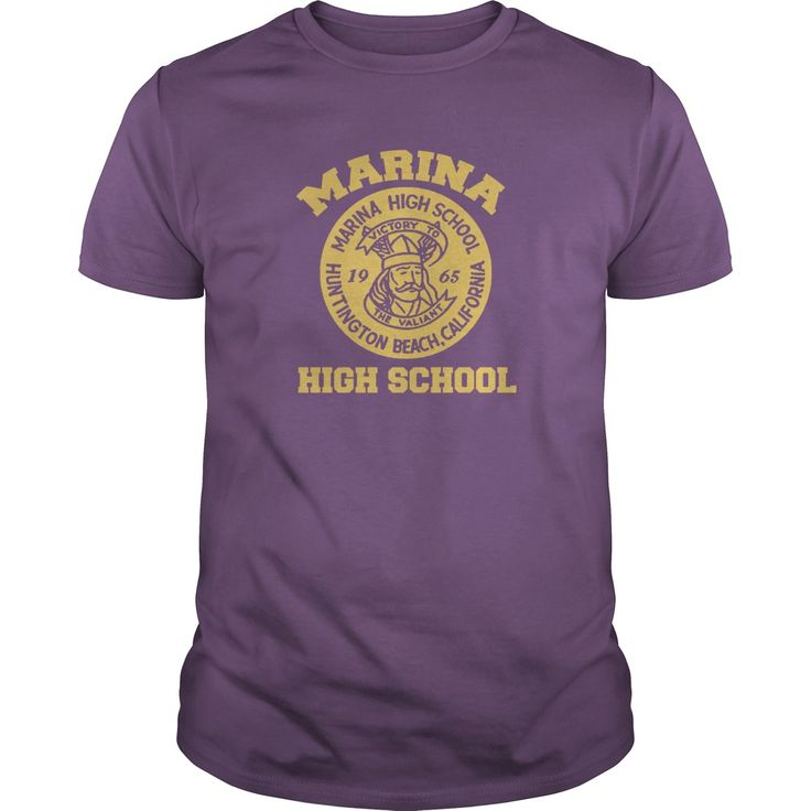 (New Tshirt Deals) Marina High School [Tshirt design] Hoodies, Tee Shirts