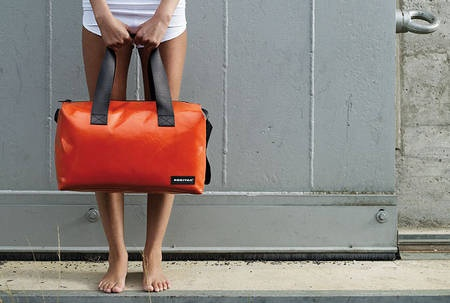 bag from recycled materials by freitag