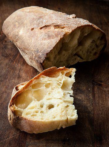 Pane di semola rimacinata a lievitazione naturale