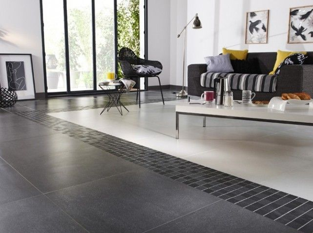 Best 10 carrelage blanc brillant ideas on pinterest for Carrelage noir et blanc