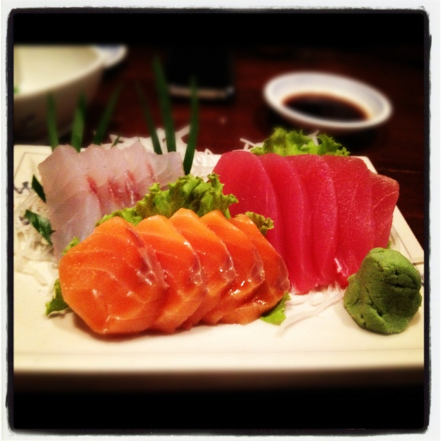 30 best images about awesome japanese food on pinterest for Sashimi dressing