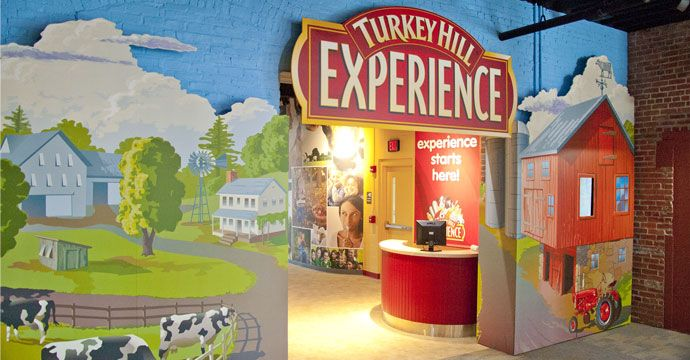 The Turkey Hill Experience, located in beautiful Lancaster County, Pa., features nine large, interactive exhibit areas allowing visitors to learn more about Turkey Hill Dairy and how the company's ice cream and iced tea flavors are selected and created. Visitors will truly experience what it's like to be an ice cream maker for a day, with the opportunity to create your own virtual ice cream flavor, sit in a vintage milk truck and enjoy unlimited free samples! #PASummerDays