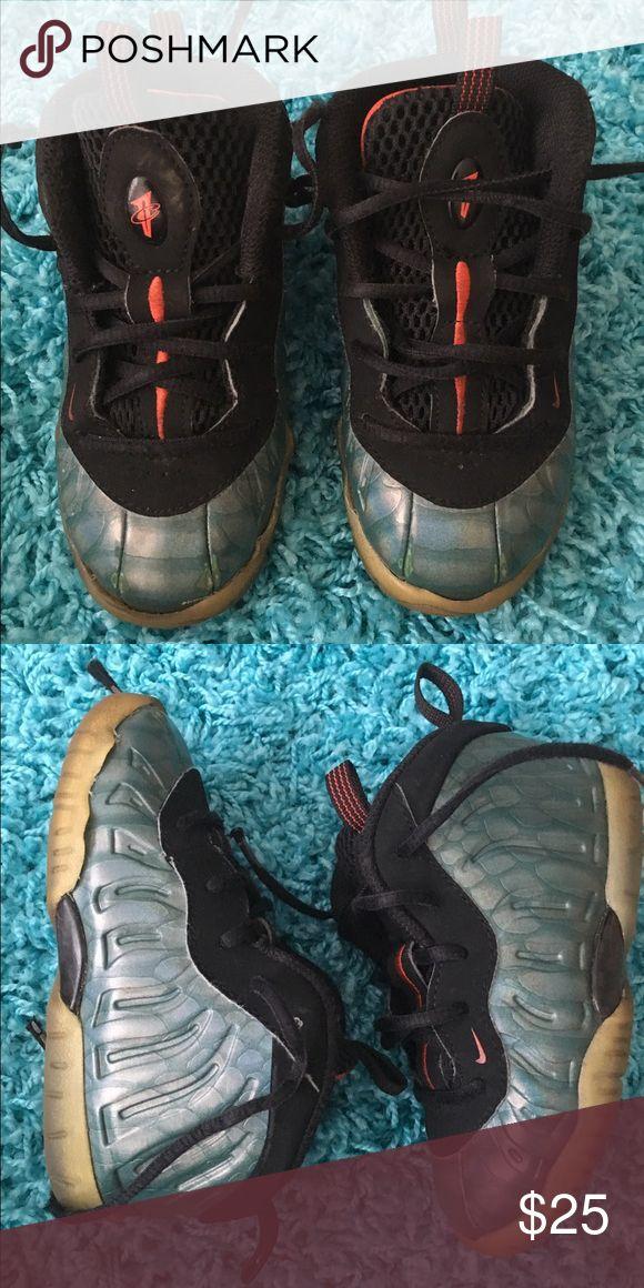 Nike Kids Foamposites Nike Kide Foamposites. Toddler Size 8. Shoes Sneakers