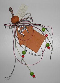Πήλινο σπιτάκι σε γούρι για το νέο έτος Δεκέμβριος 2012 - XeiroTexnima