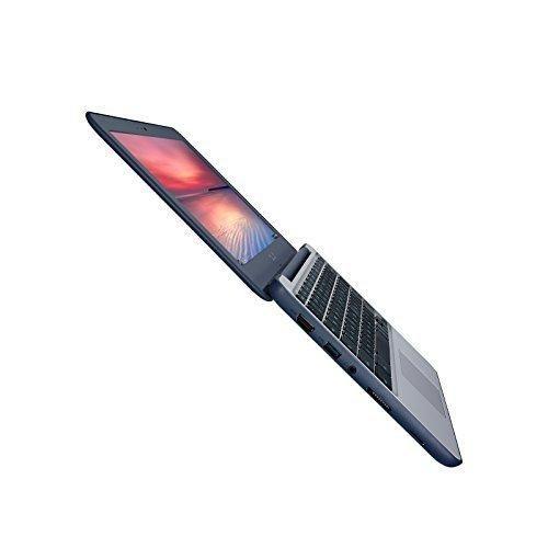 "ASUS Chromebook C202SA-YS02 11.6"" Ruggedized and Water Resistant Design with 180 Degree (Intel Celeron 4 GB 16GB eMMC Dark Blue)"