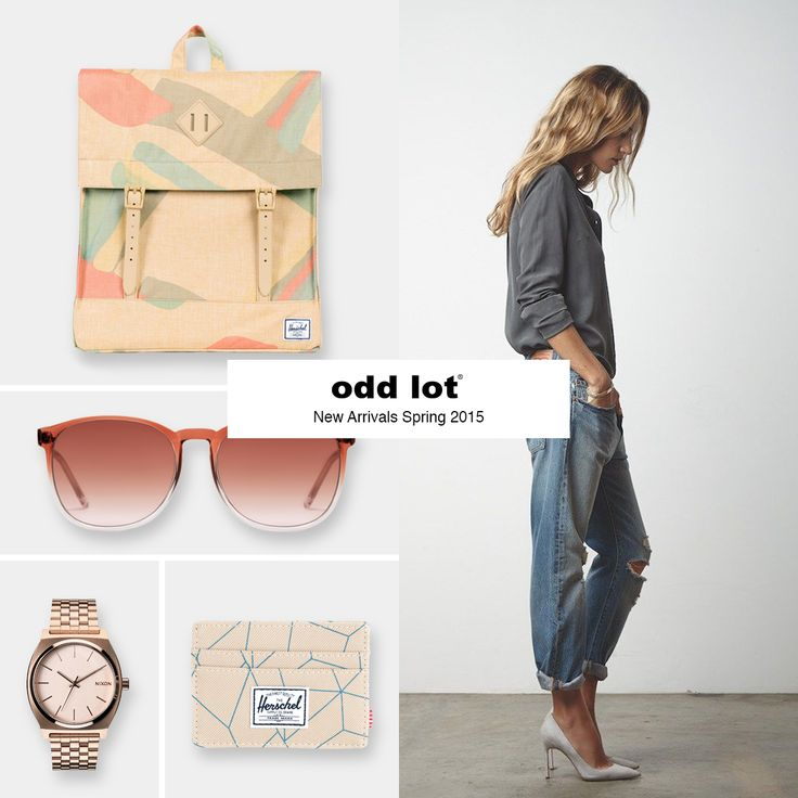 Herschel Supply - Backpack & Wallet Komono - Sunglasses Nixon - Watch Levi's  - Jeans