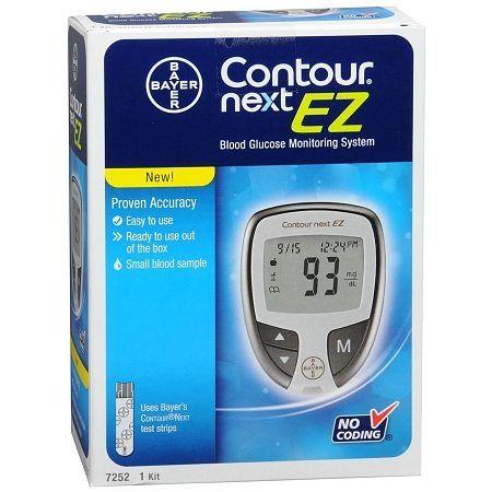 Bayer Contour Next EZ Blood Glucose Monitoring Meter