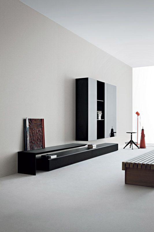 Sistema modulare librerie modello spazio moduli for Pianca muebles