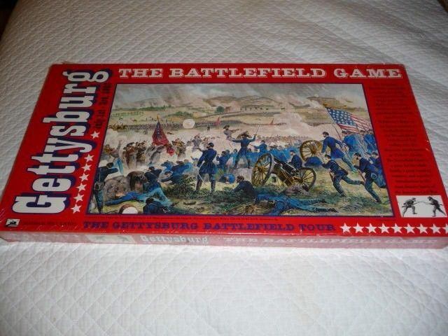 NEW Gettysburg  July 1 - 3rd, 1863  Battlefield Game by Chatham Hill Games  #ChathamHillGames