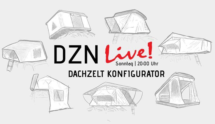 Der DACHZELT KONFIGURATOR Dachzelt, Zelten, Dach