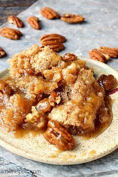 Southern Pecan Cobbler Dump Cake | FaveSouthernRecipes.com