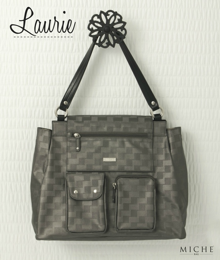 "miche bag ""laurie"" - retired urban shell, can be worn as a backpack"