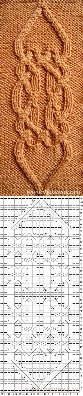 Ирландский мотив | вязание | Постила