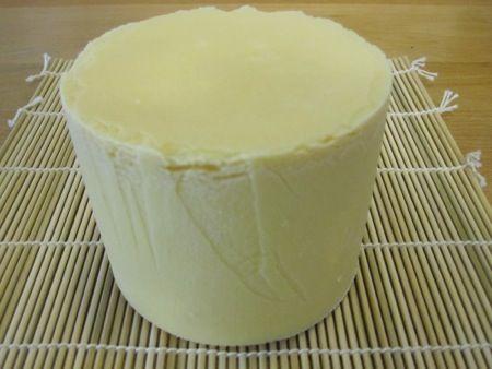 Homemade gouda cheese