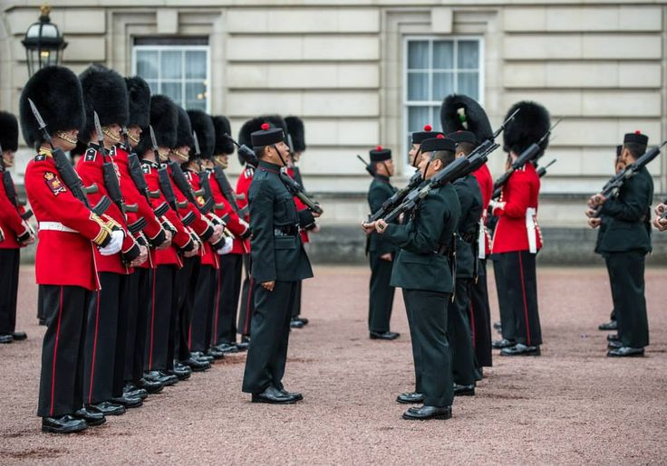 Guard Duties Buck House 2015