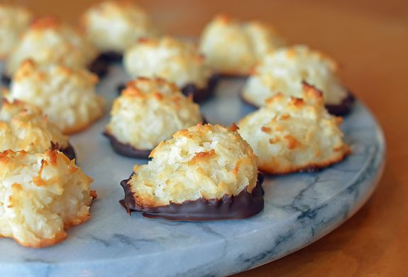 As a coconut lover, I've tried dozens of coconut macaroon recipes over the years — be it for the holidays or for friends who eat gluten-free. These coconut macaroons, made with sweetened condensed milk, are my favorite. Chewy and moist on the inside, crispy and golden on the outside, they are delicious plain but even more irresistible dipped in chocolate. They …