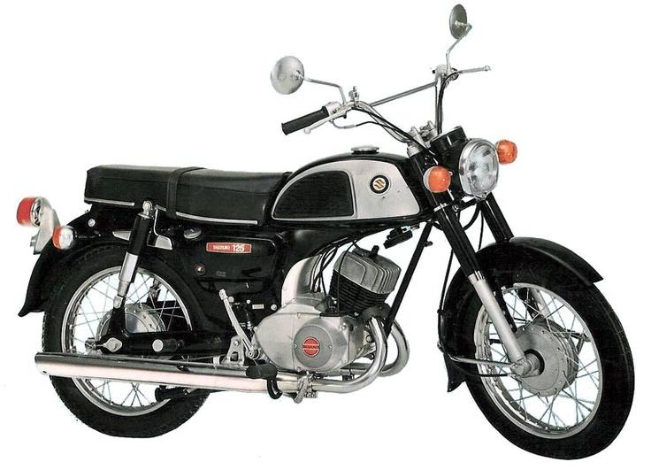 The classic Suzuki K125