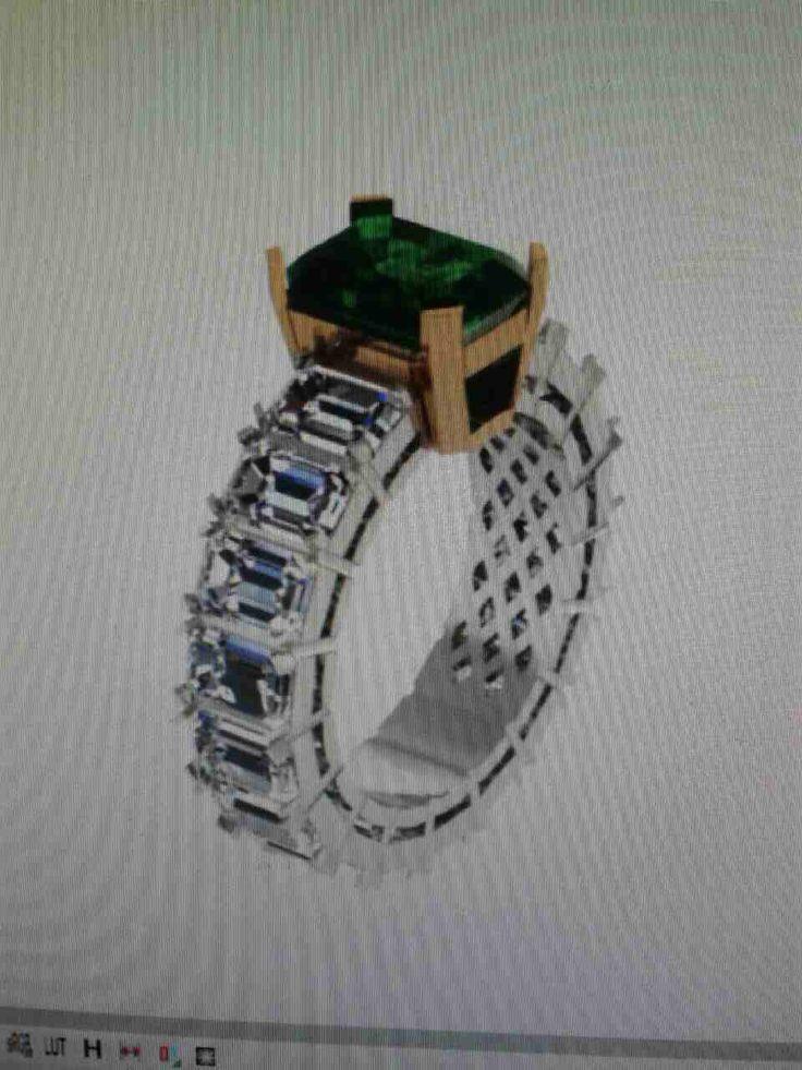 Муассанит Изумруд изготовление ювелирных изделий +79161111030