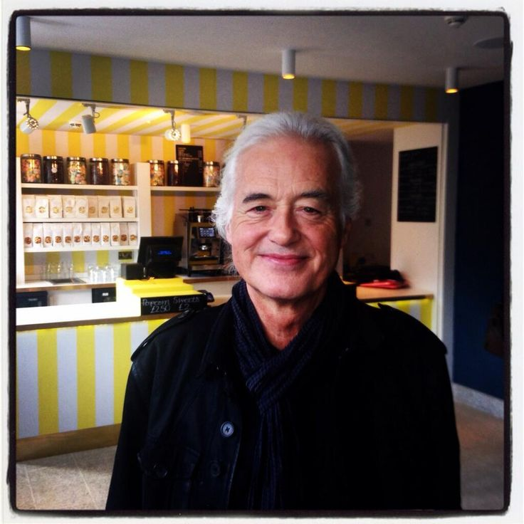Jimmy Page photographed today, March 25, 2014 in London between interviews about the Led Zeppelin remasters