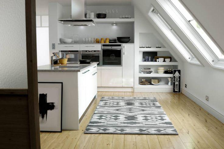 Pacrylic White Gloss Kitchen image 1