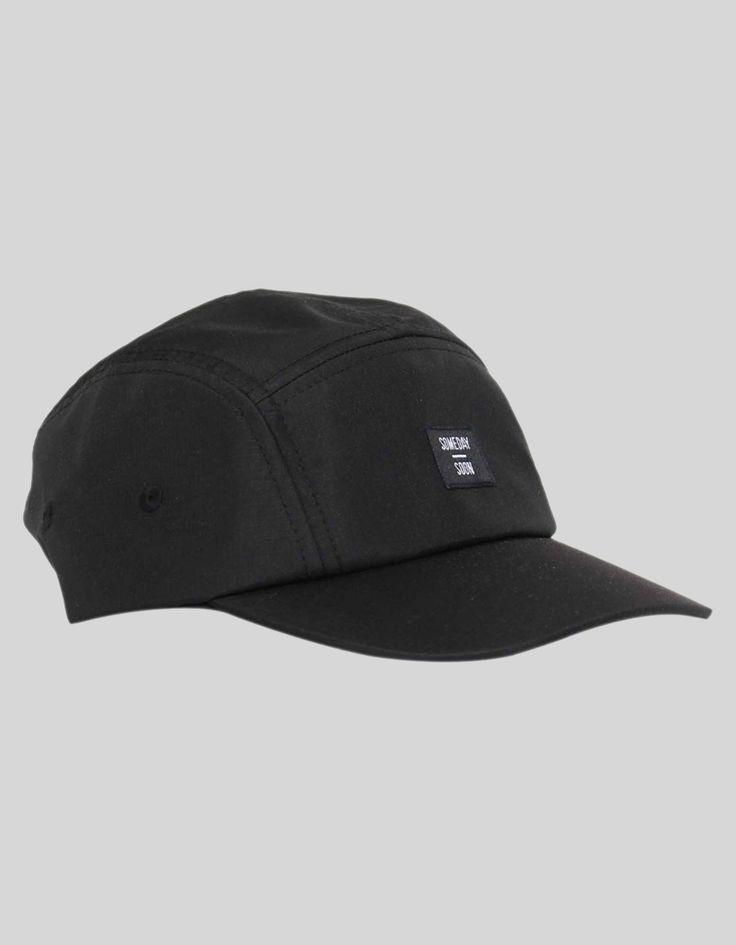 Someday Soon Black Fairfax Cap | Accent Clothing