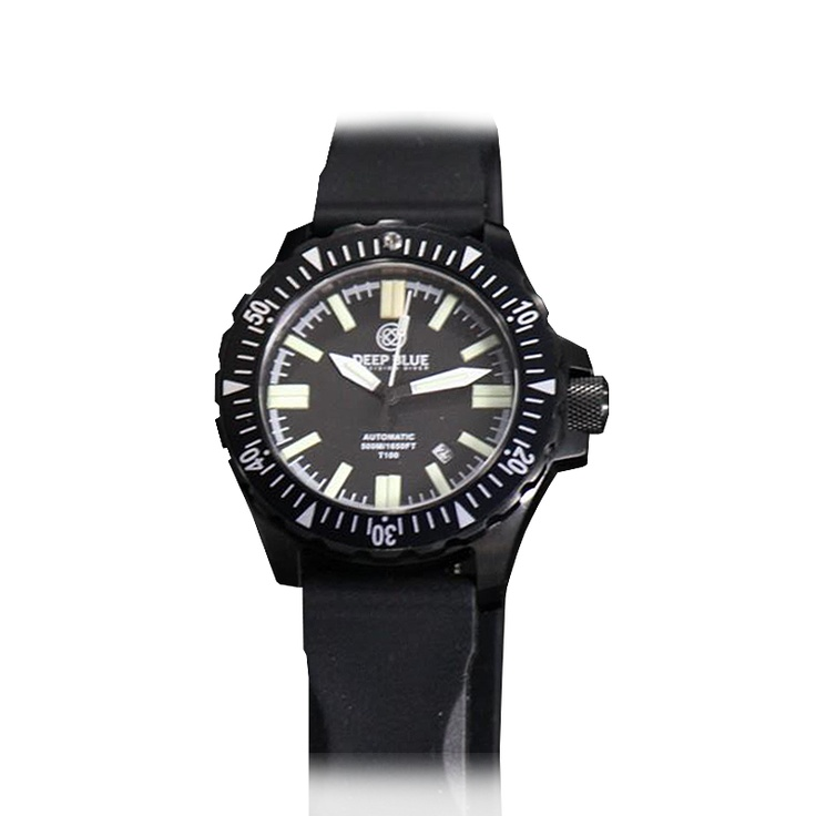 Deep Blue - Day night T100 OPS Tritium tubes - 120 click Unidirectional Bezel, Tritium Tubes 12 Oclock - 2 Yellow Flat tritium Tubes, 3,6,9 -2 Green Flat Tritium Tubes, 1,2,4,5,7,8,10,11- 1 Green Flat Tritium Tube. Hour, Minute, Sec Hand in Green Tritium. Bezel Pip Yellow Tube, Screwed in crown with welded crown tube, Screwed in solid case back, Etch Case back - diver logo with Individual Serial #,