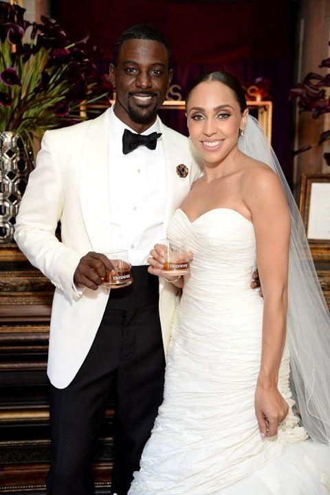 Lance Gross gets married, wedding photos