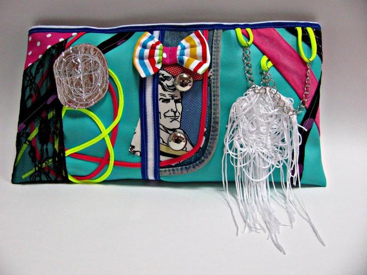 BMS clutch bag