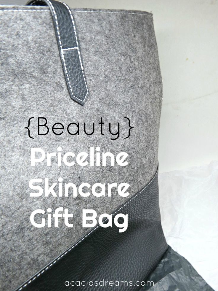 {Beauty} Priceline Skincare Gift Bag