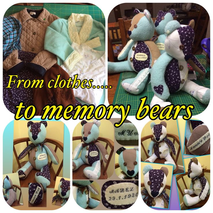 A personal favourite from my Etsy shop https://www.etsy.com/uk/listing/526302038/memory-bear-keepsake-new-baby-gift-baby
